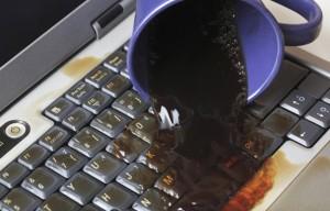 naprawa laptopa po zalaniu